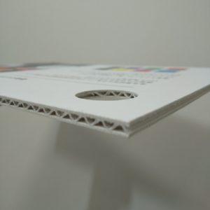 白素材印刷ありの硬質ミルダン
