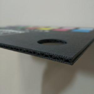 黒素材印刷ありの硬質ミルダン